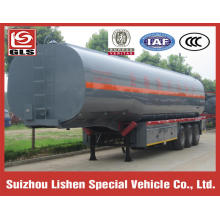 3 Axles 45000L Insulated Tank Bitumen Semi-trailer